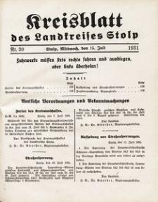 Kreisblatt des Landkreises Stolp nr 30