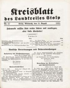 Kreisblatt des Landkreises Stolp nr 37