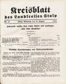 Kreisblatt des Landkreises Stolp nr 38