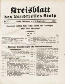 Kreisblatt des Landkreises Stolp nr 42