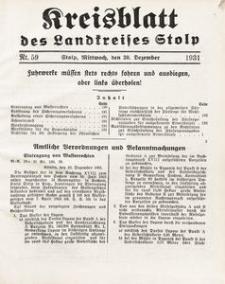 Kreisblatt des Landkreises Stolp nr 59