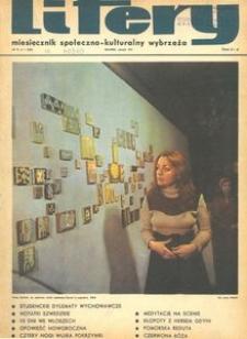 Litery : magazyn społeczno-kulturalny Wybrzeża, 1971, nr 1