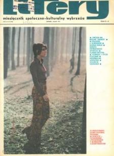 Litery : magazyn społeczno-kulturalny Wybrzeża, 1971, nr 8