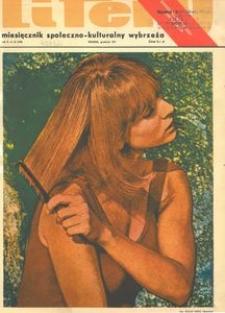 Litery : magazyn społeczno-kulturalny Wybrzeża, 1971, nr 12