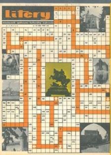 Litery : magazyn społeczno-kulturalny Wybrzeża, 1965, nr 12
