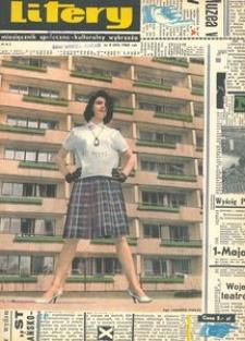 Litery : magazyn społeczno-kulturalny Wybrzeża, 1965, nr 5