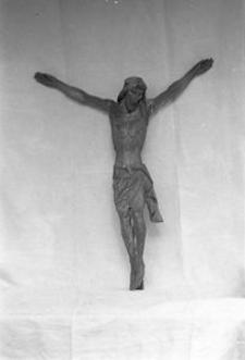 Rzeźba z krzyża przydrożnego - Przerębska huta