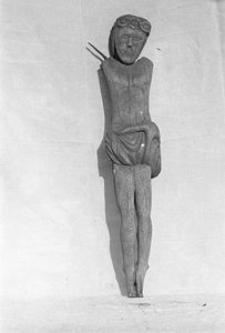 Rzeźba z krzyża przydrożnego - Gołczewo