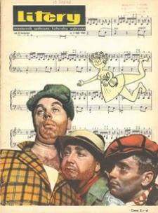 Litery : magazyn społeczno-kulturalny Wybrzeża, 1966, nr 4