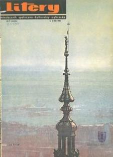Litery : magazyn społeczno-kulturalny Wybrzeża, 1966, nr 6