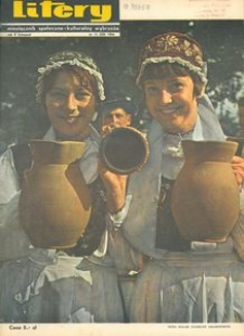 Litery : magazyn społeczno-kulturalny Wybrzeża, 1966, nr 11