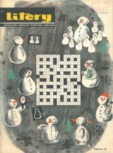 Litery : magazyn społeczno-kulturalny Wybrzeża, 1966, nr 12