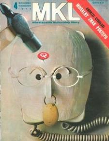 """Miesięcznik Kulturalny """"Litery"""" , 1974, nr 4"""
