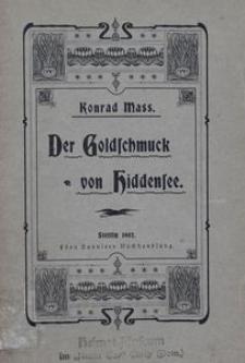 Der Goldschmuck von Hiddensee: Erzählung aus Pommerns Vergangenheit