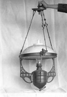 Lampa naftowa - Dębina
