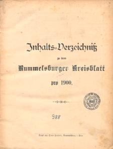 Rummelsburger Kreisblatt 1900