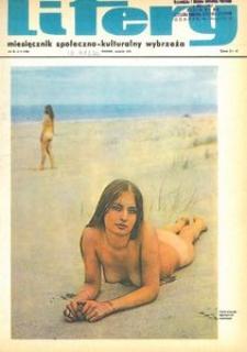 Litery : magazyn społeczno-kulturalny Wybrzeża, 1972, nr 8
