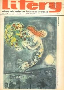 Litery : magazyn społeczno-kulturalny Wybrzeża, 1972, nr 10