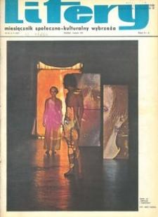 Litery : magazyn społeczno-kulturalny Wybrzeża, 1972, nr 11