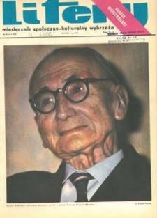 Litery : magazyn społeczno-kulturalny Wybrzeża, 1972, nr 5