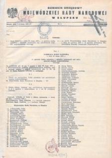 Dziennik Urzędowy Wojewódzkiej Rady Narodowej w Słupsku. Nr 1-1975 ; 1-10/1976