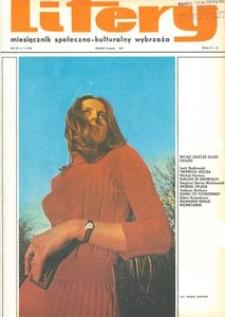 Litery : magazyn społeczno-kulturalny Wybrzeża, 1973, nr 11