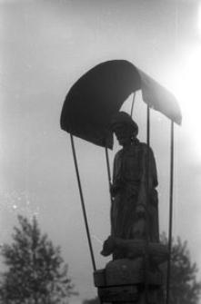 Figura na słupie (św. Roch) - Kalisz Kaszubski