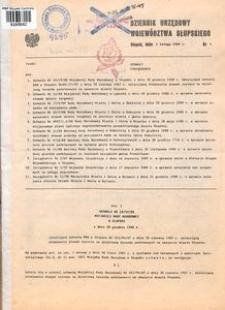 Dziennik Urzędowy Województwa Słupskiego. Nr 1-9, 11/1989