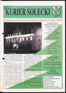 Kurier Sołecki, 2001, nr 6