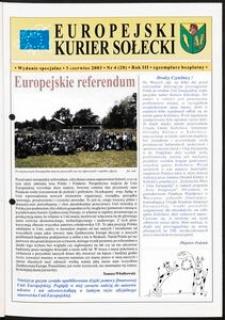 Kurier Sołecki - wydanie specjalne, 2003, nr 4 (20)
