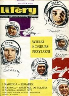 Litery : magazyn społeczno-kulturalny, 1964, nr 10