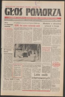 Głos Pomorza, 1981, grudzień, nr 250