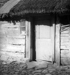 Chałupa konstrukcji zrębowej - Kaliska