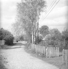 Fragment zabudowy wsi - Kaliska