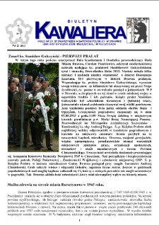 Kawaliera : biuletyn Koła nr 21, 2013, nr 2