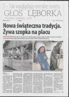 Głos Lęborka : tygodnik Lęborka i Łeby, 2013, grudzień, nr 296