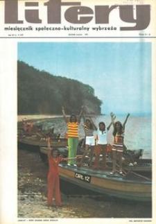 Litery : magazyn społeczno-kulturalny Wybrzeża, 1973, nr 8