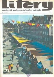 Litery : magazyn społeczno-kulturalny Wybrzeża, 1973, nr 10