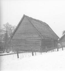 Stodoła konstrukcji zrębowej - Skwierawy