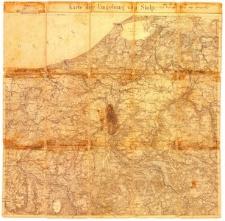 Karte der Umgebung von Stolp. [Mapa okolic Słupska]
