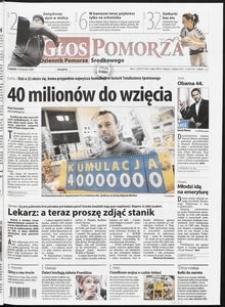 Głos Pomorza, 2008, listopad, nr 260 (555)
