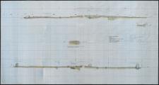 Grzybnica - przekroje pionowe O-W i N-S, Krąg Nr 2. Stan. 1
