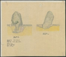 Grzybnica - Głazy 5 i 14, Krąg Nr 2. Stan. 1