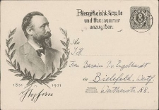 [Karta pocztowa - korespondencja z P. von Engelhardt]