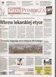 Głos Pomorza, 2009, październik, nr 252 (851)