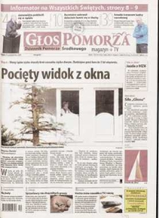 Głos Pomorza, 2009, październik, nr 255 (854)