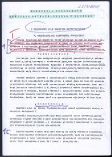 Założenia programowe Komitetu Obywatelskiego w Słupsku