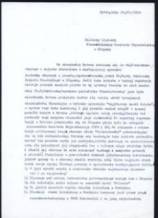 """[Pismo mieszkańców Bytowa do przewodniczącego Komitetu Obywatelskiego """"Solidarność"""" w Słupsku]"""