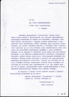 """[Dokumenty - Komitet Obywatelski """"Solidarność"""" w Słupsku 2]"""