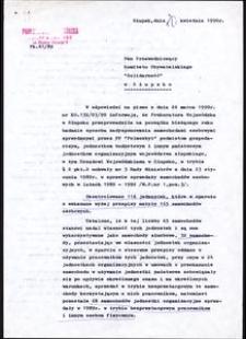 """[Przewodniczący Komitetu Obywatelskiego """"Solidarność"""" w Słupsku]"""